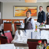 Avalon Waterways Illumination river cruise ship - open dining area
