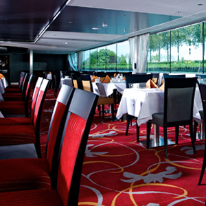 Avalon Visionary river cruise ship - Dining Room Area