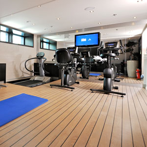 Avalon Visionary river cruise ship - Workout Room